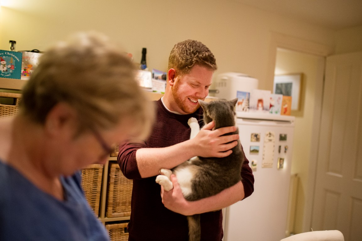 Iain and His Cat