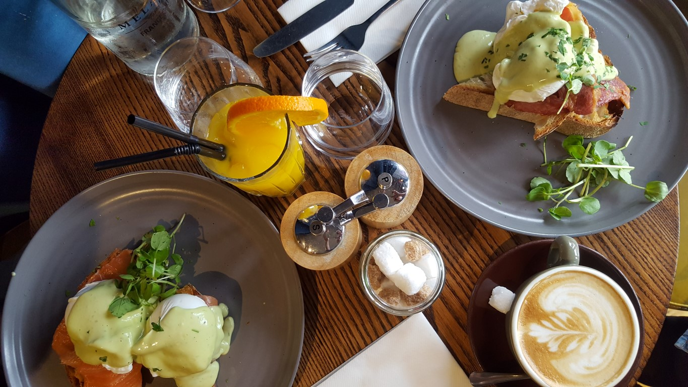 London's Best Brunches or I Love Food