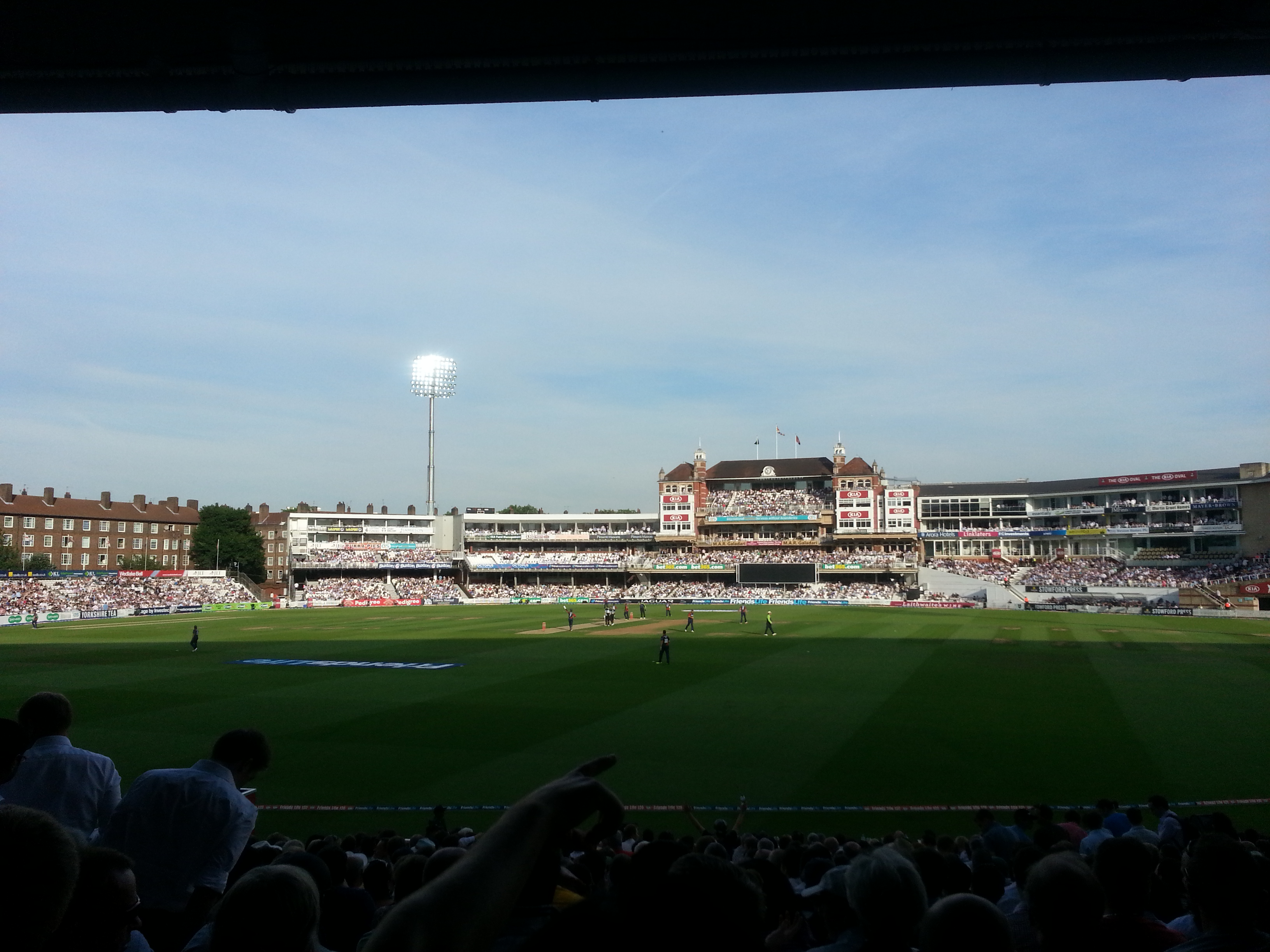 Cricket Experience at the Oval