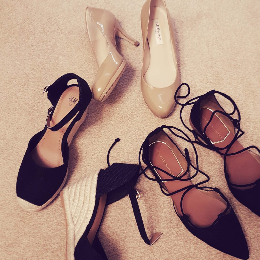 Spring Shoe Haul or Why I Always Need More Shoes