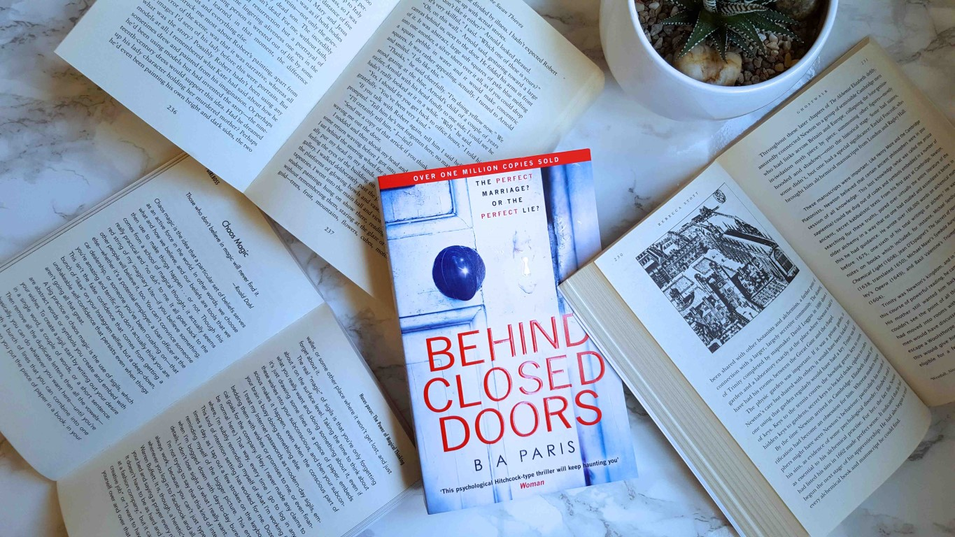 Win a book in My Book Giveaway – Behind Closed Doors