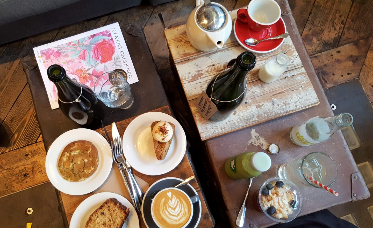 Coffee and Cake Times at Timberyard Seven Dials